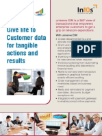 Give life to Customer data for tangible actions and results