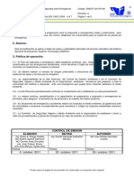 Snest-ga-pr-08 Proc. Respuesta Ante Emergencias