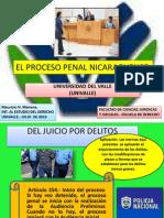 El Proceso Penal Nicaraguense