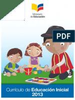 Curriculo Educacion Inicial 2013