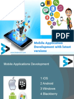 Mobile Application Development with latest Versions