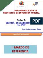 Modulo 5 Gestion de Inversiones