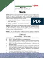 Reglamento Local de Construcciones Del Cantón Loja