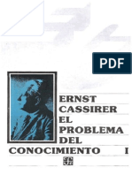 Cassirer Ernest - El Problema Del Conocimiento 1