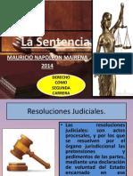 La Sentencia 2014