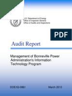 Audit Report IG