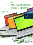 Microsoft Customers using Search Server 2010 - Sales Intelligence™ Report