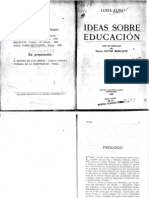 Libro 2 Ideas Sobre Educacion Luisa Luisi OCR 1922