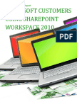 Microsoft Customers using SharePoint Workspace 2010 - Sales Intelligence™ Report