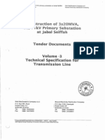 33KV OHL Specification
