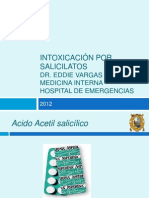 Intoxicacion Por Salicilatos