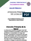 Atención Primaria de Salud-UNPRG