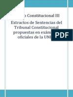 Sentencias Cuotas Mellado y Alzaga Constitucional IIIl