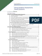 Cisco Networking Academy Assessments FAQ