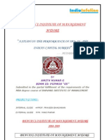 study on performance of initial public offer (IPO) in indian capital market
