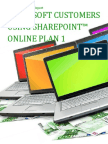 Microsoft Customers using SharePoint™ Online Plan 1 - Sales Intelligence™ Report