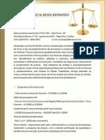Currículo Aureo Almeida