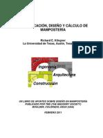 Klingner - Diseño y Cálculo de Paredes