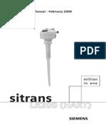 Foaie de Catalog Senzor Nivel Radar