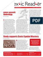 The Dyslexic Reader 2014  Issue 66
