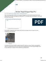 Akuaponik NFT Kolam Terpal Dengan Pipa Pvc _ m2n , Ikan & Akuaponik