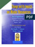 Prof Nagesh Kumar Climate Change Impacts Nagesh