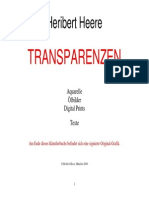 Heribert Heere TRANSPARENZEN