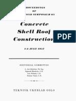 Concrete Shell Roof Conctruction - TEKNISK UKEBLAD OSLO