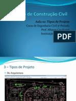2 Aula - Tipos de Projeto