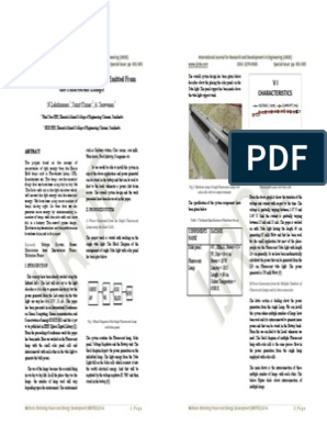 IJRDE MEPED 2014 Special Issue | Capacitor | Photovoltaics
