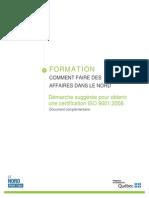 Démarche à Suivre _ISO 9001 V2008