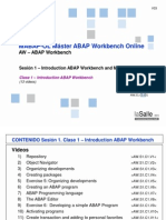 AW.S1.C1.D1 - Introduction ABAP Workbench V03