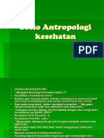 Sosio Antropologi kesehatan