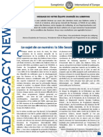 Advocacy News March 2014 FR - FINAL