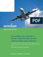 Accenture Airline Freight Travel Services Cloud Computing