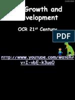 B5 Growth and Development
