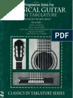 [BOOK] - 39 Progressive Solos for Classical Guitar Book 2