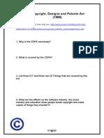 Copyright Worksheet 1