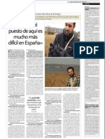 Entrevista a Javier Lázaro