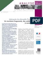 Première étude de l'INSEE sur le territoire métropolitain