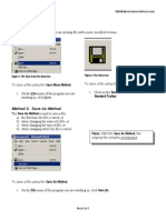 Steps to Save a File