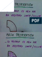 Mesh Generation notes (FINITE ELEMENT METHODs)