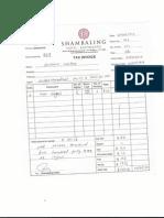 Krishna Travel Invoice format