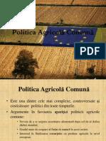 Seminar 3. Politica Agricol-â Comun-â