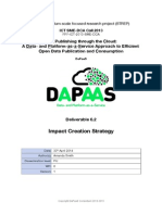 DaPaaS Deliverable 6.2 - Impact Creation Strategy - April 2014