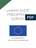 Urban Audit 2004_UAPS Leaflet