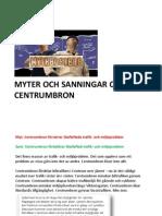 Myt Och Verklighet Om Centrumbron