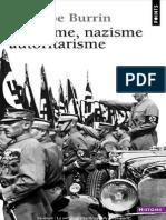 Fascisme, Nazisme, Autoritarism - Philippe Burrin