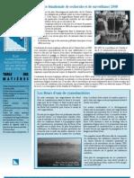 Le plan d'aménagement panlacustre du lac Ontario - 2008