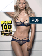 FHM Magazine - 100 Sexiest Women in the World 2014